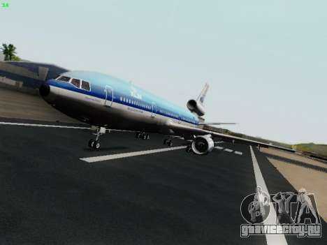 McDonell Douglas DC-10-30 KLM Royal Dutch Airlines для GTA San Andreas