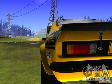 Opel Kadett для GTA San Andreas вид сверху