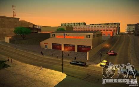 HD пожарная часть для GTA San Andreas второй скриншот