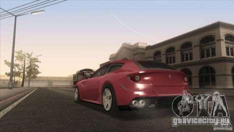 Ferrari FF 2011 V1.0 для GTA San Andreas салон