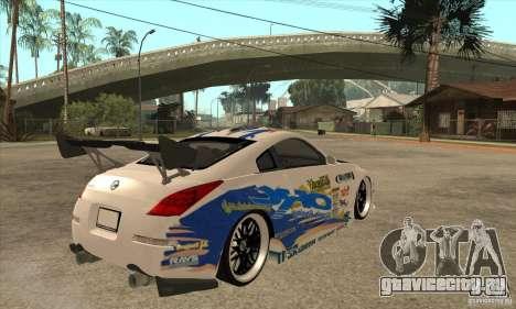 Nissan Z350 - Tuning для GTA San Andreas вид справа