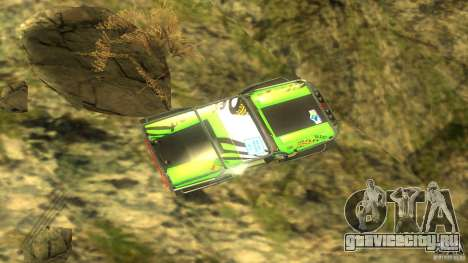 Raptor для GTA San Andreas вид сзади