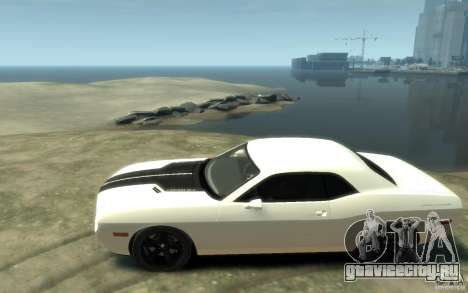 Dodge Challenger Concept для GTA 4 вид слева