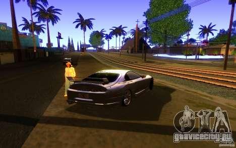 Toyota Supra Rz The bloody pearl 1998 для GTA San Andreas вид слева
