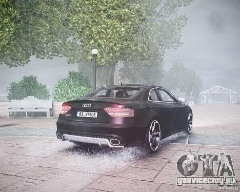 Audi RS5 2010 для GTA 4 вид справа