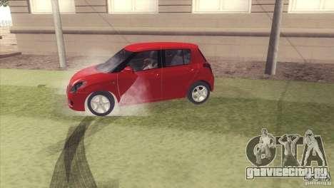 Suzuki Swift versión Chilena для GTA San Andreas вид справа
