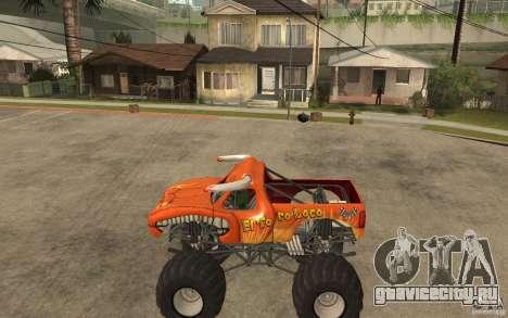 El Toro Loco для GTA San Andreas вид слева