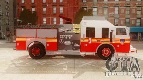 FDNY Seagrave Marauder II для GTA 4 вид слева