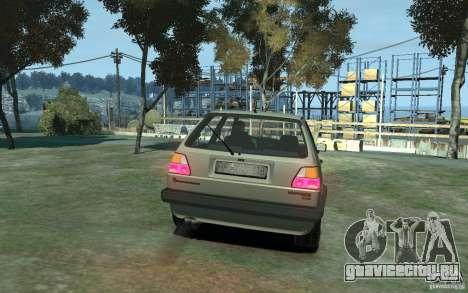 Volkswagen Golf II GTI для GTA 4 вид справа