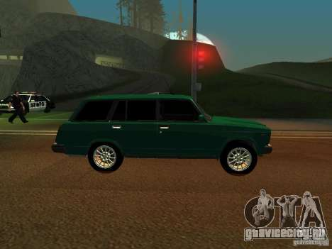 ВАЗ 21047 для GTA San Andreas вид сзади слева