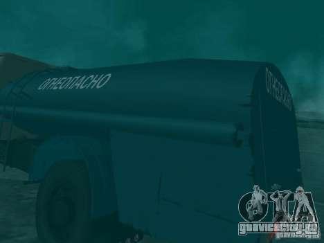 МАЗ 503 для GTA San Andreas вид сбоку