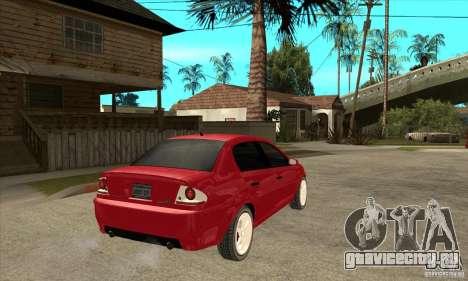 GTA IV Premier для GTA San Andreas вид справа