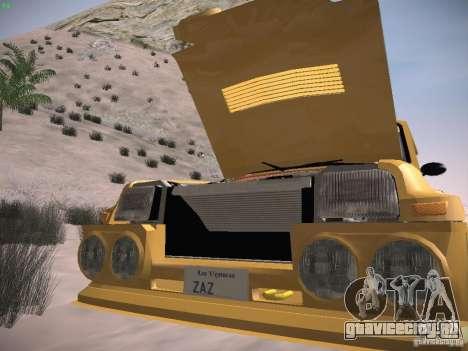 Renault 5 Turbo для GTA San Andreas вид сбоку