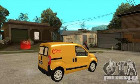 Citroen Nemo 2010 для GTA San Andreas вид справа