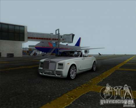 Rolls Royce Phantom Series II Drophead Coupe 12 для GTA San Andreas вид справа