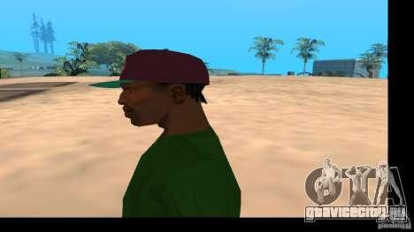 Кепка с логотипом группы HIM для GTA San Andreas четвёртый скриншот