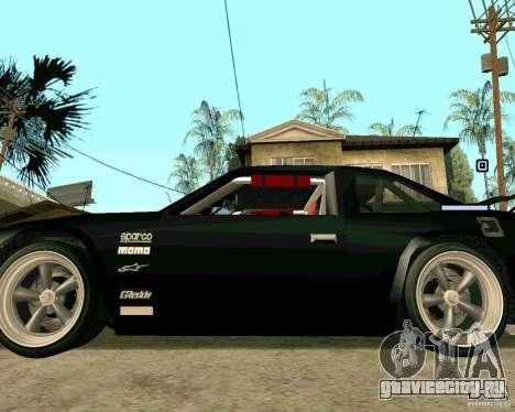 Hotring Racer Tuned для GTA San Andreas вид сбоку