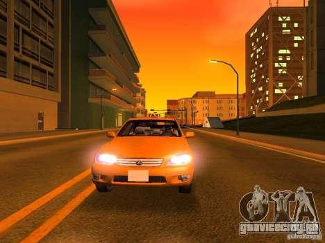 Lexus IS300 Taxi для GTA San Andreas салон