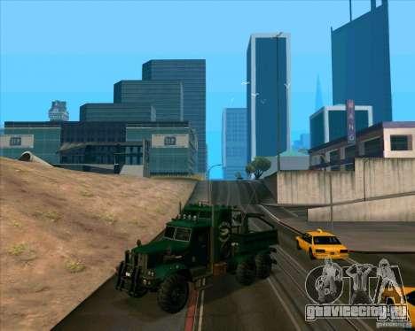 KrAZy Crocodile для GTA San Andreas вид слева