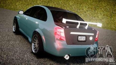 Chevrolet Lacetti WTCC Street Tun [Beta] для GTA 4