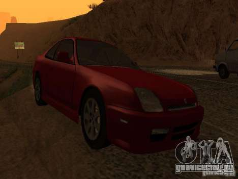 Honda Prelude Sport для GTA San Andreas вид сзади