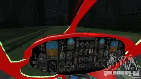 Medicopter 117 для GTA 4 вид изнутри
