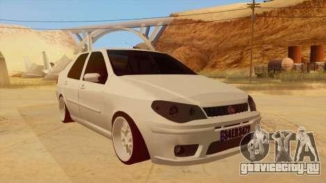 Fiat Albea для GTA San Andreas вид сзади
