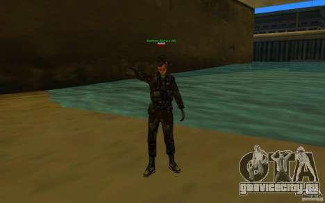 HQ skin Army для GTA San Andreas второй скриншот