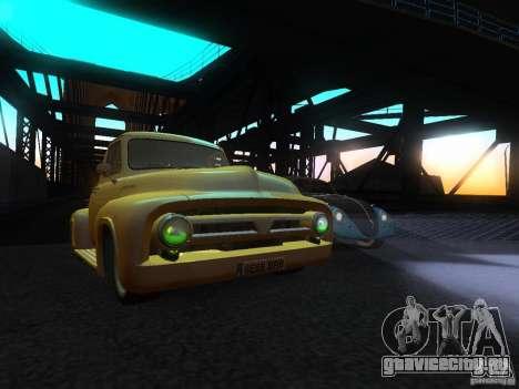 Ford FR 100 для GTA San Andreas вид справа