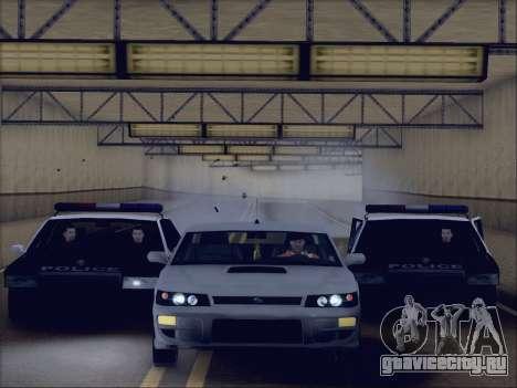 New Police LSPD для GTA San Andreas вид справа