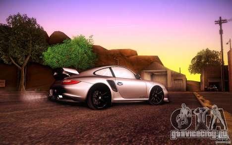 Porsche 911 GT2 RS 2012 для GTA San Andreas вид сзади
