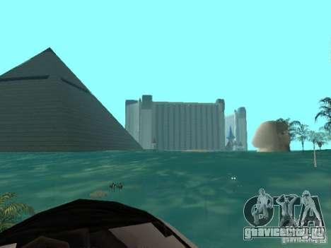 Наводнение для GTA San Andreas второй скриншот