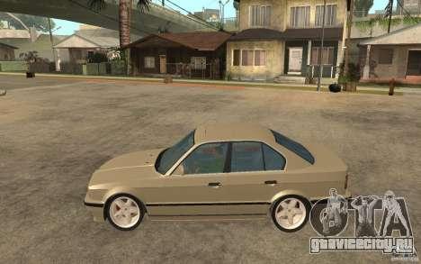 BMW 535i e34 AC Schnitzer для GTA San Andreas вид слева