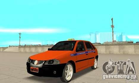 Volkswagen Gol G4 Taxi для GTA San Andreas
