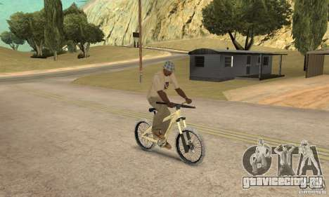 Specialized P.3 Mountain Bike v 0.8 для GTA San Andreas вид справа