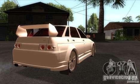 ВАЗ 2110 WRC для GTA San Andreas вид справа