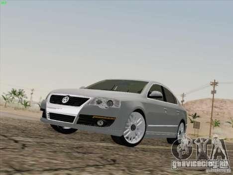 Volkswagen Magotan 2011 для GTA San Andreas вид сбоку