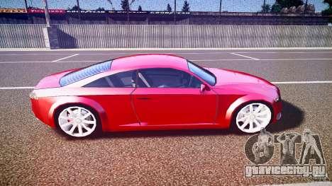 Audi Nuvollari Quattro для GTA 4 вид сбоку