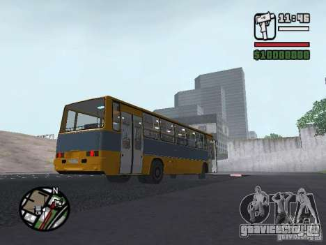 Ikarus 263 для GTA San Andreas вид сзади