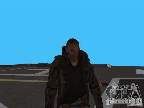 James Heller из Prototype 2 для GTA San Andreas второй скриншот