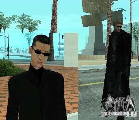 Пак персонажей из Resident Evil для GTA San Andreas третий скриншот