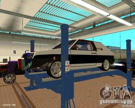 ВАЗ 2108 Драговая для GTA San Andreas двигатель