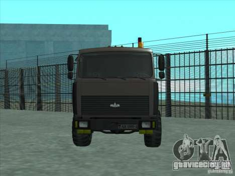 МАЗ 6317 манипулятор для GTA San Andreas вид слева