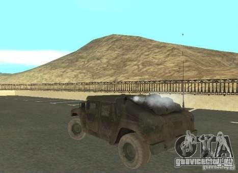 Hummer Cav 033 для GTA San Andreas вид справа