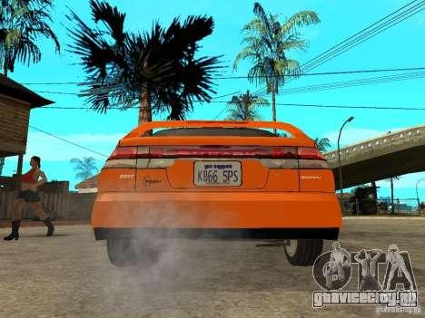 Subaru Legacy 250T 1997 для GTA San Andreas вид сзади слева