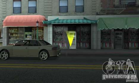 GTA SA Enterable Buildings Mod для GTA San Andreas