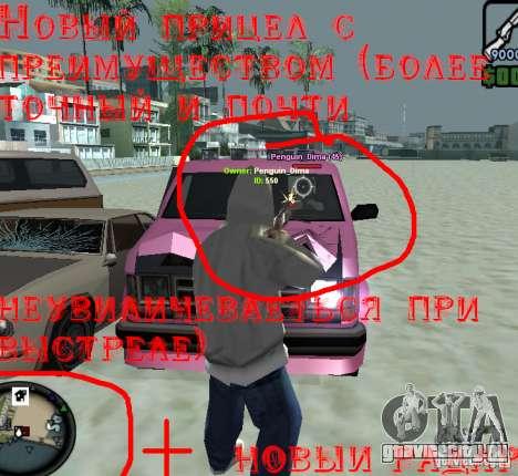 HUD для GTA San Andreas