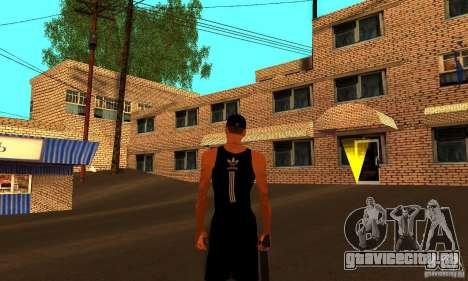 Русская текстура двухэтажного дома для GTA San Andreas третий скриншот