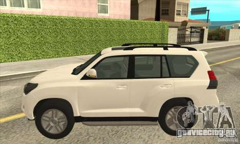 Toyota Land Cruiser Prado 150 для GTA San Andreas вид слева