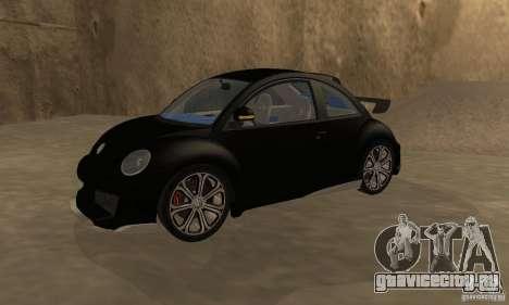 Volkswagen Bettle Tuning для GTA San Andreas вид справа